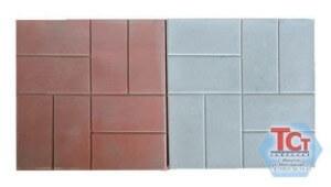 Тротуарная плитка «8 кирпичей» (300*300*50)
