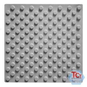 Тротуарная плитка «Тактильная (конусообразные рифы)» (500*500*50)